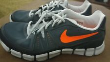 NEW Mens NIKE FLEX SHOW TR 3 Gray/Orange 684701 Athletic Running Sneakers Shoes