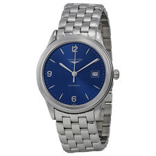 Longines Flagship Automatic Blue Dial Stainless Steel Mens Watch L48744966