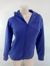 COLUMBIA WOMENS VIOLET PURPLE SWEATER JACKET SIZE 14/16 YOUTH SUPER CUTE