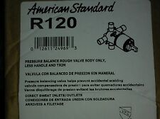 AMERICAN STANDARD R120 Rough-In  Valve Kit,Pressure Balance Temp. Control,Brass