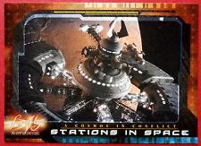 Joss Whedon'S Firefly-CARD #62 - STAZIONI nello spazio-Inkworks 2006