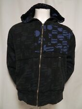 VOLCOM lightly Removed Mens Skater Hoodie Jacket Insulated All Over Print S