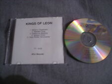 RARE ADVANCE PROMO Kings Of Leon CD EP Holy Roller Novocaine 2003 SMOKE & JACKAL
