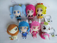 Precure Plush Doll Set of 7 Pretty Cure BANPRESTO Prize Only Japan Used
