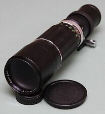 Soligor 400mm f6.3 Telephoto Lens M42 Screw Mount