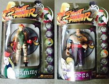 Street Fighter Action Figures Round One, Official CAPCOM RARE Cammy & Vega