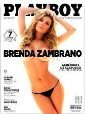PLAYBOY MEXICO BRENDA ZAMBRANO NOVEMBER/ NOVIEMBRE 2015 PLAYBOY MEXICAN EDITION
