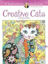 Creative Haven Creative Cats Coloring Book by Dover Publications DOV-89640 Mult