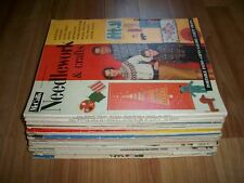 McCall's Needlework & Crafts Magazine Lot of 20 Issues 1950 -1960 Entire Decade!