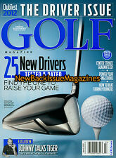 Golf Magazine 3/12,The Driver Issue,March 2012,NEW