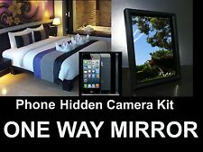 Phone Hidden Camera Kit-Turn Your iPhone Into a Spy Camera! One / Two Way Mirror