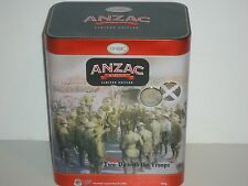 T1638 Limited Edition Anzac Two-Up Empty Biscuit Tin 2016