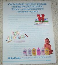 1992 ad page - Baby Magic bath products Mennen PRINT 1-page ADVERT Clipping