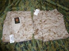 USMC Desert Marpat Blouse Trouser Small X-Long pants shirt jacket Camoflauge