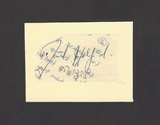 David Holford West Indies Cricket signed autograph during 1966-7 India Tour