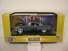 M2 MACHINES 1:64 DIECAST METAL GRAY 1957 CHRYSLER 300C TWO DOOR HARDTOP