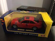 BMW 328ci (325ci, 330ci) Coupe E46 Model Diecast 1:24 Red