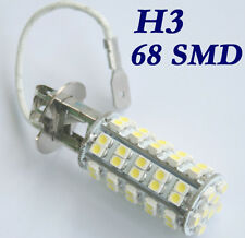 H3 68 SMD Car LED White Auto 360°Fog Head Light Headlight Lamp Bulb DC 12V