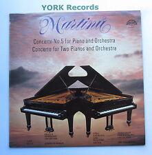 1110 2338 - MARTINU - Piano Concerto No 5 BILEK / ROHAN Prague SO - Ex LP Record