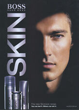 "Hugo Boss Skin ""Skincare Range"" 2006 Magazine Advert #1669"