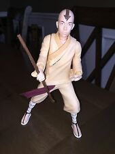 """Last Airbender Ultimate Battle Aang Action Figure Spinmaster 2010 12"""" Tall"""