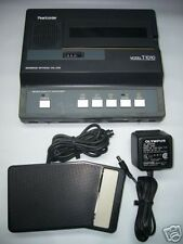 Olympus Pearlcorder T1010 Microcassette transcriber ac, pedal, headset WARRANTY