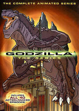 Godzilla: The Complete Animated Series (DVD, 2014, 4-Disc Set) - NEW!!