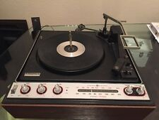GENERAL ELECTRIC P375g STEREO RECORD PLAYER RADIO TAPE  VINTAGE 1972