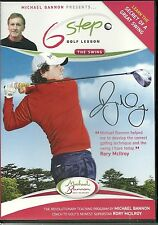 Six STEP GOLF SWING LESSON THE SWING DVD WITH MICHAEL BANNON - (Rory McIlroy)