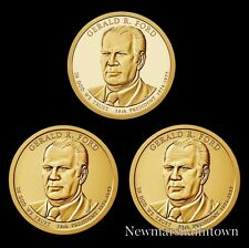2016 P+D+S Gerald M. Ford Presidential Mint Proof Dollar Set