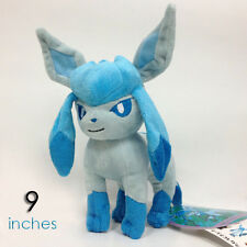 Glaceon #471 Pokemon GO Plush Soft Toys Character Stuffed Animal Doll Teddy 9""