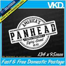 Panhead Sticker/ Decal - Harley Davidson Motorbike Chopper Bobber Man Cave Bar