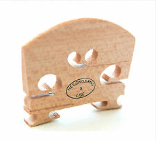 Violin Bridge 4/4 Size Maple Wood