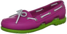 Crocs Women's Beach Line Boat Water Shoe Pink Size 10 FREE SHIPPING
