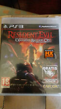 RESIDENT EVIL OPERATION RACCOON CITY  EDIZIONE  ITALIANA PS3  SIGILLATO