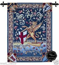 the griffin (unicorn)  medieval Fine Tapestry jacquard Woven Wall Hanging 23x30