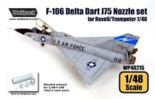 Wolfpack 1:48 F-106 Delta Dart J75 Engine Nozzle for Revell Trumpeter #WP48215