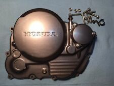 HONDA XR650L XR650 XR 650L  OEM  CLUTCH COVER  CASE W/OIL FILTER COVER 652 MILES