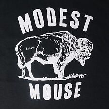 Modest Mouse band ***MEDIUM*** printed t-shirt Black punk retro
