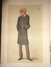 Original Victorian Vanity Fair Print - Lt General Sir SJ Browne KCB VC, 5/2/1887
