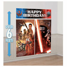 STAR WARS SCENE SETTER PARTY DECORATING DECORATION KIT