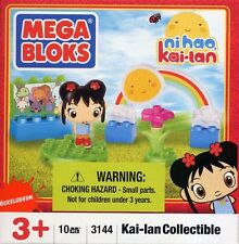 Mega Bloks Ni Hao, Kai-Lan Collectible 10 Pc Building Set with Figurine