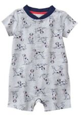 "GYMBOREE ""GAZEBO PARTY"" PUPPY ONE PIECE ROMPER Outfit Dalmatian 2016 BOYS 3-6 M"