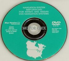 2006 2007 2008 Infiniti FX35 FX45 Altima Navigation DVD This is the original CD