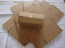 10 Brown Corrugated Shipping Box 8x4x3 Sunglasses Cardboard Carton Packing Maile