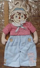 NEW Raggedy Ann's  Andy Wooden Towel Hanger Cloth Doll Body Japan