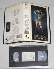Vhs KATE BUSH The single file – OTTIMO 1983 EMI 2