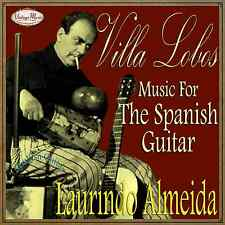 LAURINDO ALMEIDA CD Spanish Guitar  Spain Classical Guitarra Clasica Villa Lobos