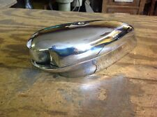 Vintage Boat Bow Light Clear Lens 50's  Rechromed  March 15 Rewired