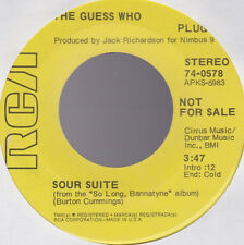 Guess Who Sour Suite / Life In The Bloodstream Promo USA 45 W/O PS